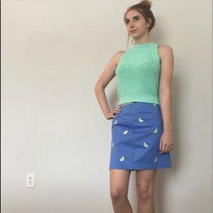 Vineyard Vines Lime Skirt